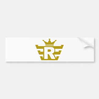 R-royal.png Bumper Stickers