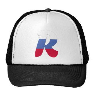 R (Russia) Cap