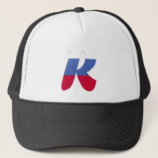 R (Russia) Trucker Hat