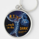 """R.T.'s rock..."" keychain"
