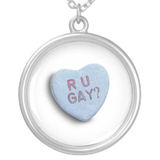 R U GAY CANDY PERSONALIZED NECKLACE