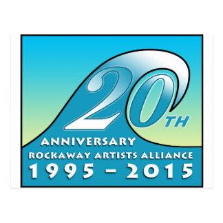 RAA 20th Anniversary Swag Postcard