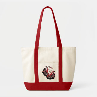 RAB Rockabilly Very Cherry Shoes Tote Bag