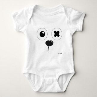 Rabb:it - face Baby Jersey Bodysuit -