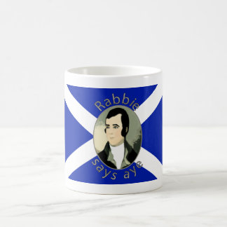 Rabbie Burns Scottish Independence Mug
