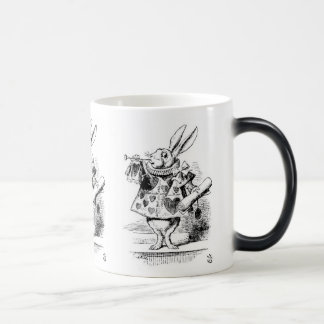 "Rabbit, ""Alice's Adventures in Wonderland"" Morphing Mug"