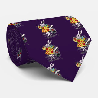 "Rabbit, ""Alice's Adventures in Wonderland"" Tie"