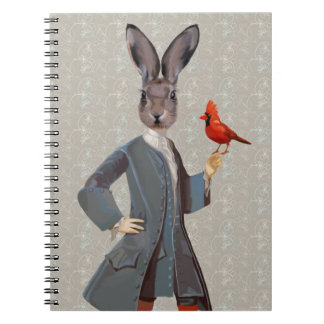 Rabbit And Bird Notebook