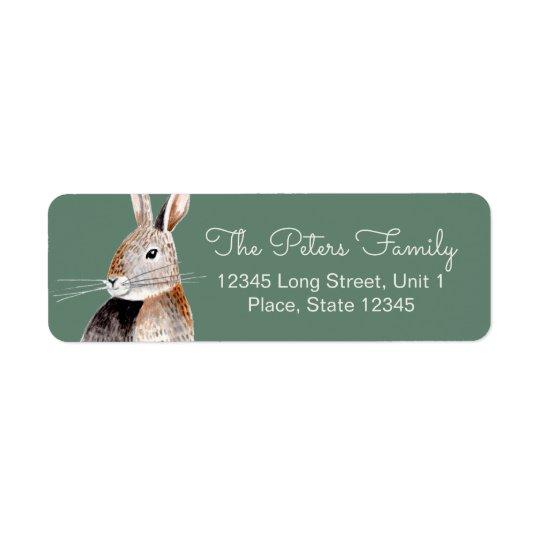 Rabbit | Baby Shower | Address Labels