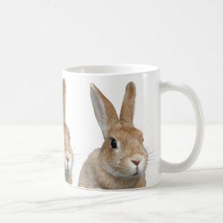 Rabbit Basic White Mug