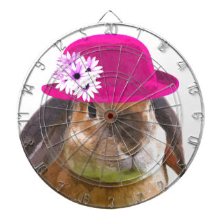 Rabbit bunny cute funny animal girly dartboard