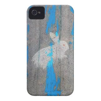 Rabbit bunny graffiti iPhone 4 cases