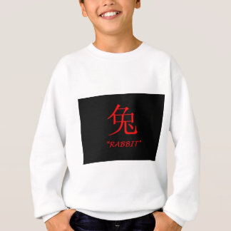 """Rabbit"" Chinese astrology sign Sweatshirt"