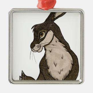 Rabbit Christmas Ornament