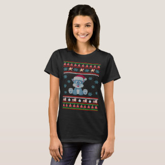 Rabbit Christmas Ugly Sweater T-Shirt