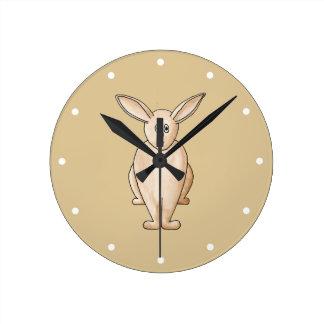 Rabbit. Clocks
