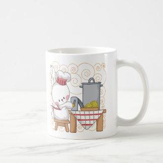 Rabbit Cook Coffee Mugs