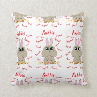 Rabbit design cushion