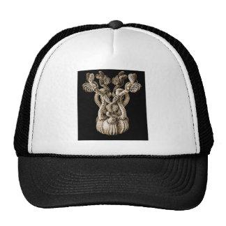 Rabbit-ear barnacle mesh hats