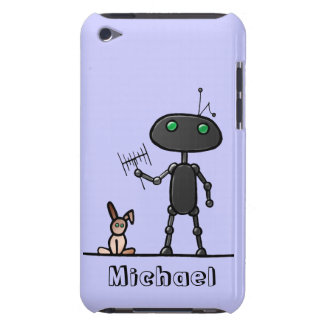 Rabbit Ears Personalized iPod Touch Case