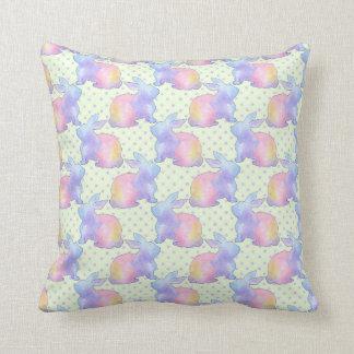 Rabbit Easter Cushion