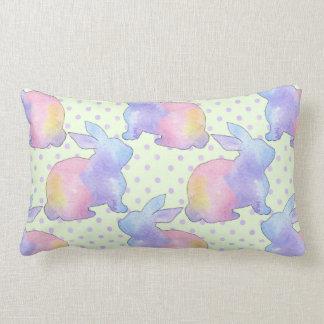 Rabbit Easter Lumbar Cushion