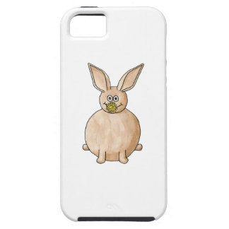 Rabbit Eating a Dandelion. iPhone 5 Cover