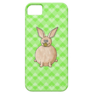 Rabbit eating a flower. iPhone 5 cover