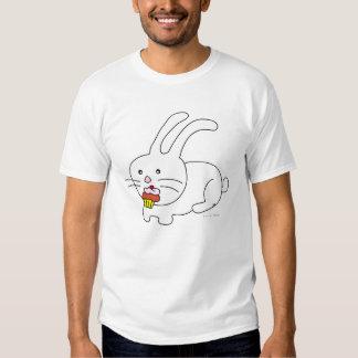 Rabbit Eats Cupcake Tshirt 1