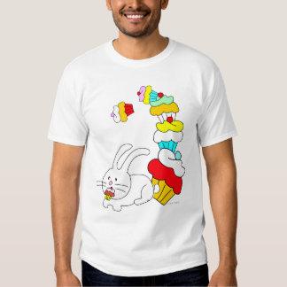 Rabbit Eats Cupcake White TShirt