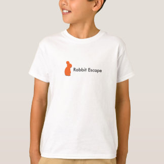 Rabbit Escape kids t-shirt