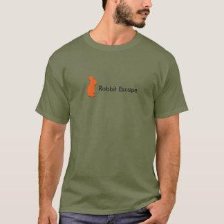 Rabbit Escape logo+name t-shirt (green)