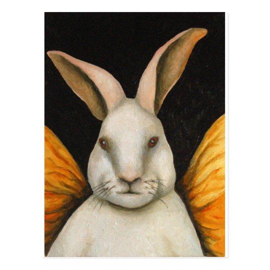 Rabbit Fairy Postcard