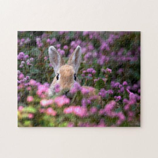 Rabbit farm jigsaw puzzle