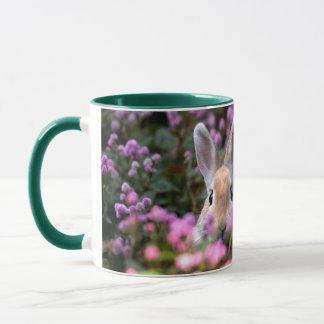 Rabbit farm mug
