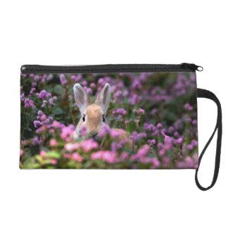 Rabbit farm wristlet