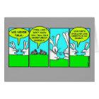 Rabbit Farts (Birthday Card) Card
