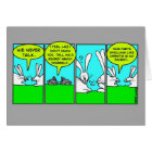 Rabbit Farts (Greeting Card) Card