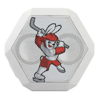 rabbit hockey cartoon