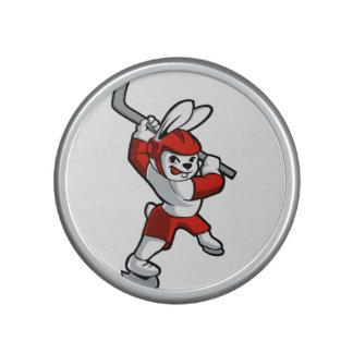 rabbit hockey cartoon bluetooth speaker