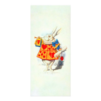 Rabbit in Alice Wonderland Invitation
