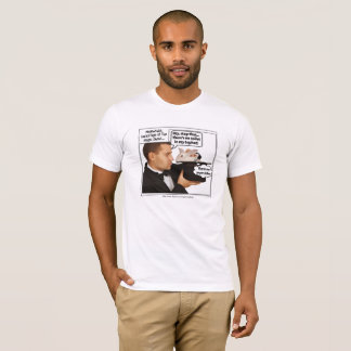 Rabbit in Hat Magician Meme T-Shirt