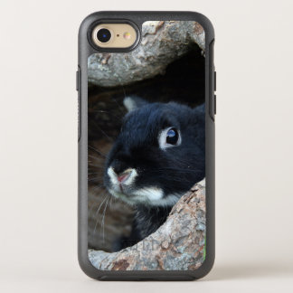 Rabbit in Hollow of a Tree OtterBox Symmetry iPhone 8/7 Case