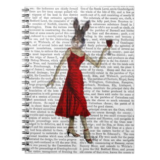 Rabbit in Red Dress Notebooks
