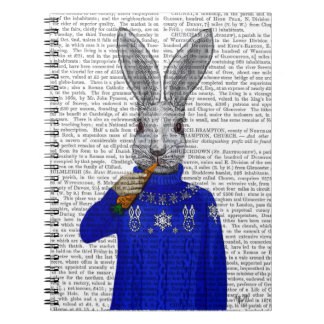 Rabbit In Sweater 2 Spiral Notebook