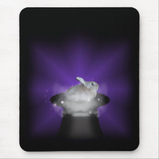 Rabbit In the Magic Hat Mouse Pad