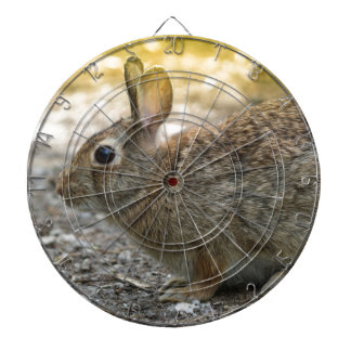 rabbit in the woods dartboard