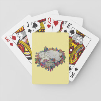 rabbit jumps daisy deck of cards