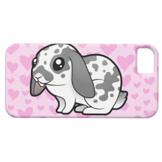 Rabbit Love (floppy ear smooth hair) Barely There iPhone 5 Case