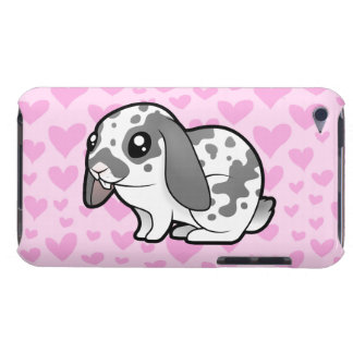 Rabbit Love (floppy ear smooth hair) iPod Touch Case